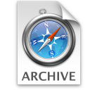 Safari Webarchive icon