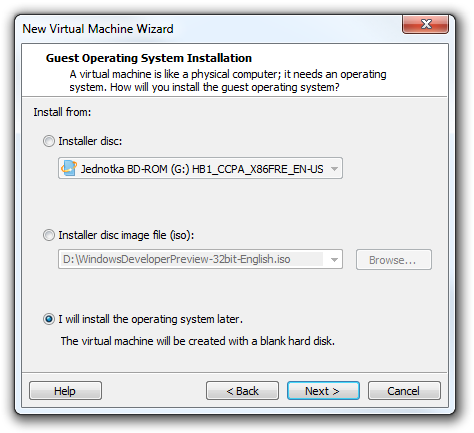 windows 8 iso for virtual machine