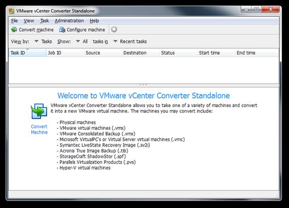 Convert Parallels Desktop virtual machine to Vmware Workstation