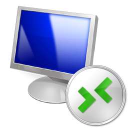 Default Windows 7 Remote Desktop Connection icon.