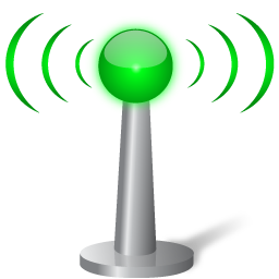 Green Wifi Icon Android App