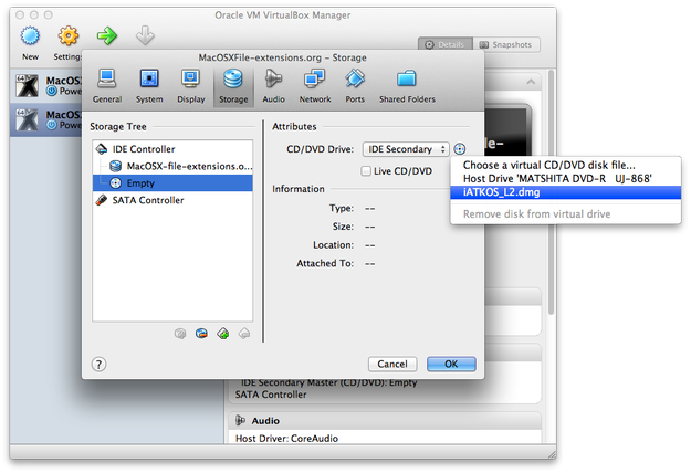VirtualBox mounting iATKOS L2