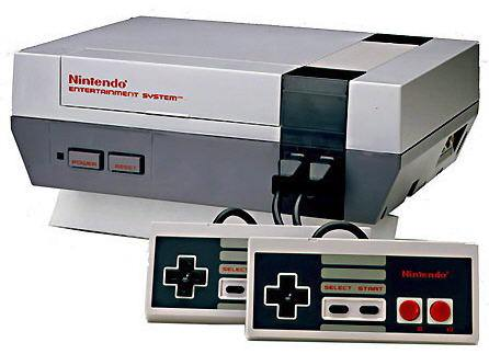 Nintendo Entertainment System video console.
