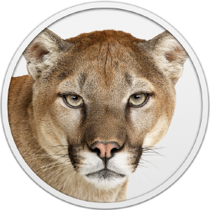 Mac OS X Mountain Lion logo