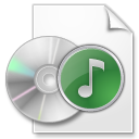 Nero Burning ROM NRG audio image icon