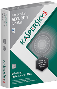 Kaspersky Security for Mac box.