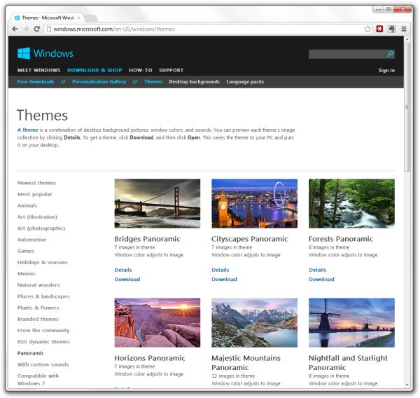 Windows Xp Theme File Software: Windows 8 Desktop Theme Sources