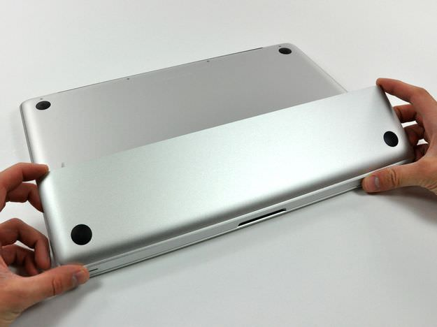 MacBook Pro Late 2008 and Early 2009 remove battery access door
