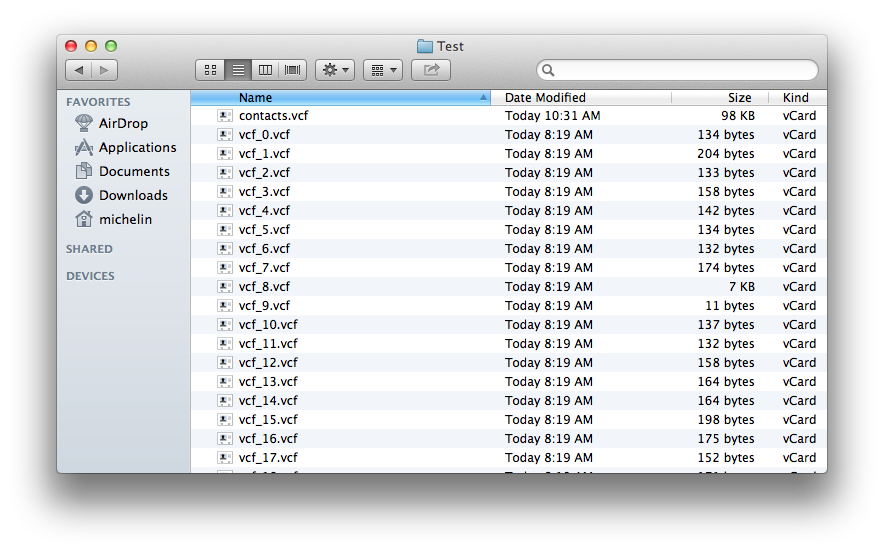 Mac Tweaks: Merge All Contacts Into One File