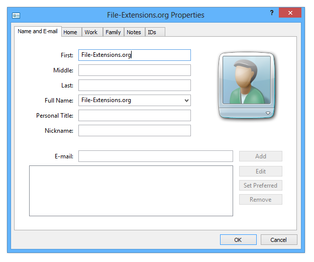 Open, split, merge or convert VCF contact files