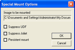 Special Mount Options