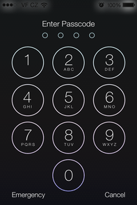 how to unlock iphone 4 passcode lock ios 7 review 20437