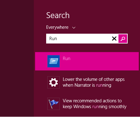 Windows 8 Metro Search