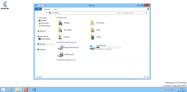 Windows 8 Aero Lite