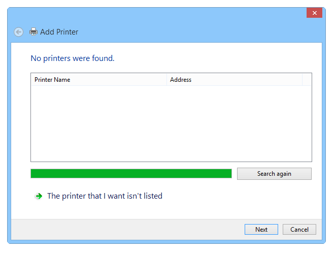 Setting up a virtual PS printer - Step 1
