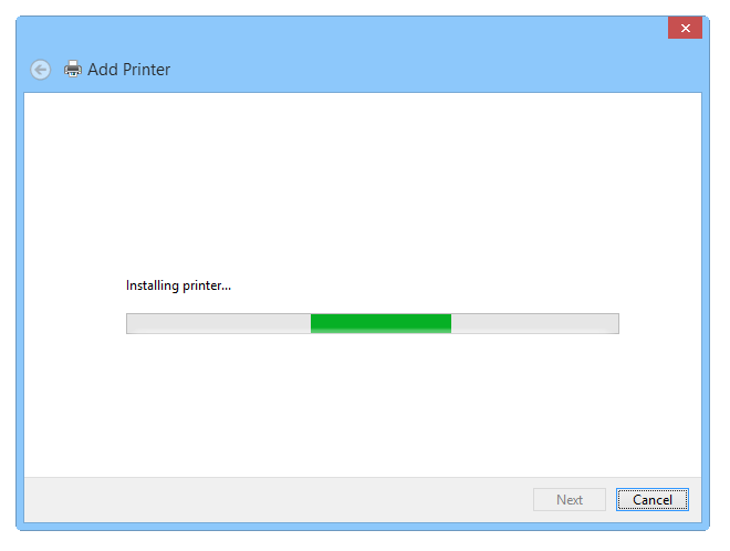 Setting up a virtual PS printer - Step 6