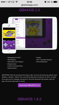 Install GBA for iOS
