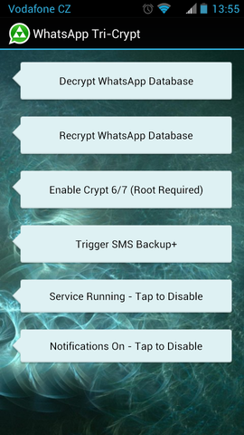 how to open whatsapp db file