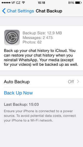 How To Backup Photos From Iphone To Icloud >> Transfer WhatsApp chats from phone to phone