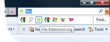 Internet Exploer search box